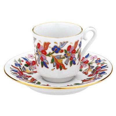 Kütahya Porselen 456 Desen Kahve Fincan Takımı Çay Seti