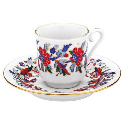 Kütahya Porselen 459 Desen Kahve Fincan Takımı Çay Seti