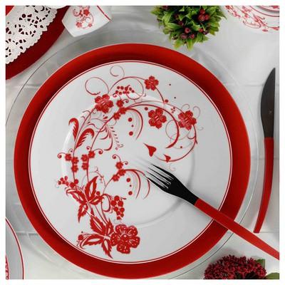 Mitterteich Iris 24 Parça 8673 Desen Yemek Seti Yemek Takımı