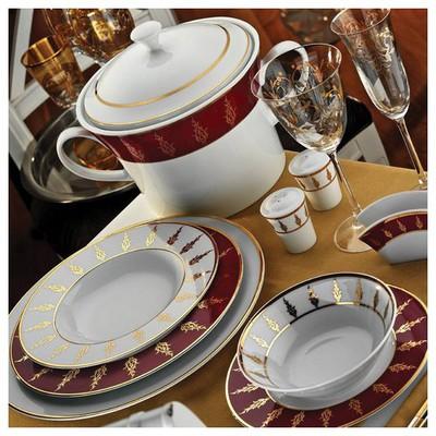 Kütahya Porselen Iris 97 Parça 6592 Desen Yemek Takımı