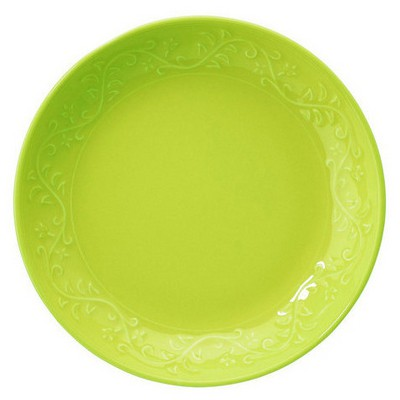 Naturaceram Ivy Çukur  Yeşil Tabak