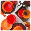 Naturaceram Ivy Servis Tabağı Kırmızı Küçük Mutfak Gereçleri
