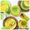 Naturaceram Ivy Servis Tabağı Sarı Küçük Mutfak Gereçleri