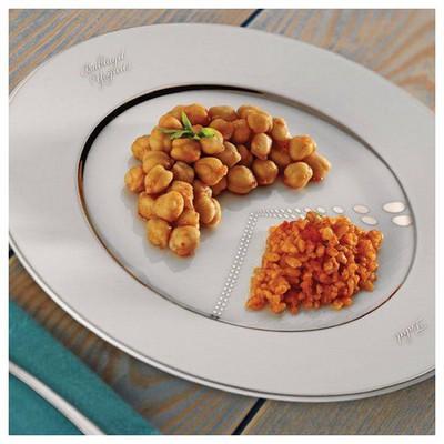 Kütahya Porselen Banu Kazanç 11 Parçalık Platin Sağlıklı Beslenme Seti Yemek Takımı
