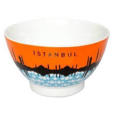 Kütahya Porselen Istanbul Kase 25398 Dekorlu Tabak