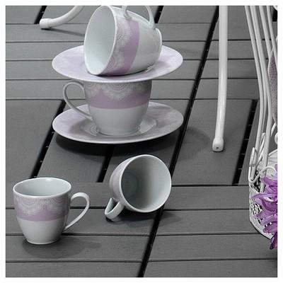 Kütahya Porselen Leonberg 6 Kişilik 12 Parça 8435 Desen Kahve Takımı Çay Seti
