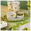 Kütahya Porselen 24 Cm Kayık  Yeşil Tabak