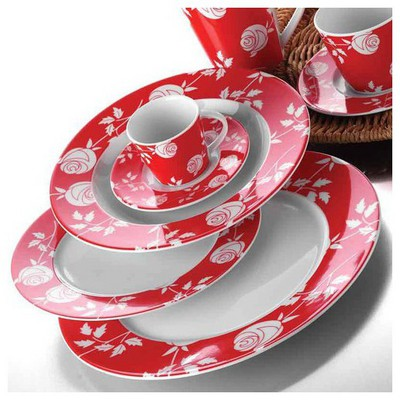 Kütahya Porselen Leonberg 24 Parça 435617 Desen Yemek Seti Yemek Takımı