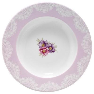 Kütahya Porselen Leonberg 24 Parça 8435 Desen Yemek Seti Yemek Takımı