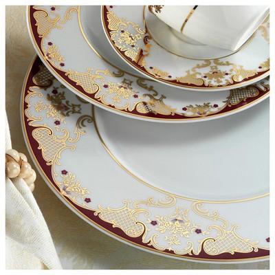 Kütahya Porselen 12 Kişilik 83 Parça 8458a Desenli Yemek Takımı