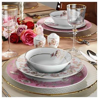 Kütahya Porselen 12 Kişilik 83 Parça 8579 Desenli Yemek Takımı