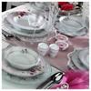 Kütahya Porselen 12 Kişilik 83 Parça 8669 Desenli Yemek Takımı Tabak