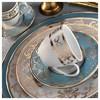 Kütahya Porselen Iris 12 Kişilik 97 Parça 6914 Desen Yemek Takımı Tabak