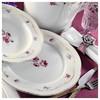 Kütahya Porselen Lindos 12 Kişilik 83 Parça 8576 Desen Yemek Takımı Sofra Gereçleri