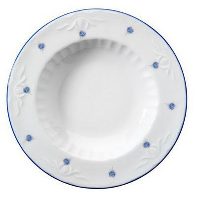 Kütahya Porselen Mina Mavi Yemek Tabağı