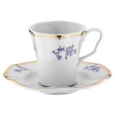 Kütahya Porselen Nil 29671 Desen Kahve Takımı Çay Seti