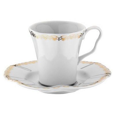 Kütahya Porselen Nil 847820 Desen Kahve Takımı Çay Seti