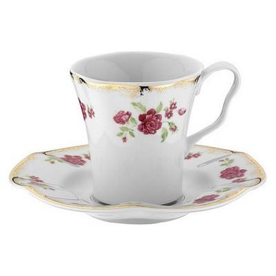 Kütahya Porselen Nil 8554 Desen Kahve Takımı Çay Seti