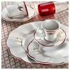 Kütahya Porselen Nil 12 Kişilik 83 Parça 627442 Desen Yemek Takımı Tabak