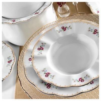 Kütahya Porselen Nil 12 Kişilik 83 Parça 8581 Desen Yemek Takımı