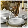 Kütahya Porselen Olympos 84 Parça 66105 Desenli Yemek Takımı