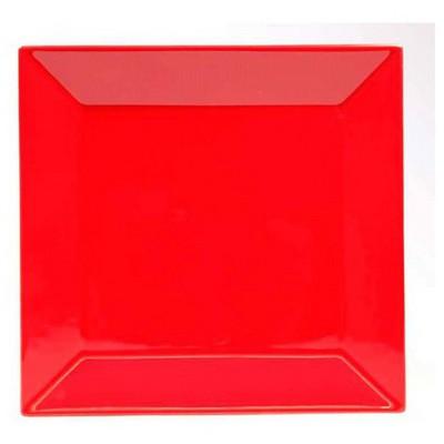 Naturaceram Kütahya Porselen Pera Kırmızı Pasta Tabağı Tabak