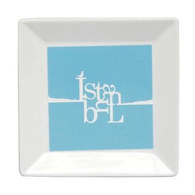 Kütahya Porselen Perge 25391 Dekor 18 Cm Istanbul Tabak