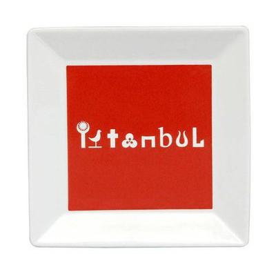 Kütahya Porselen Perge 25392 Dekor 18 Cm Istanbul Tabak