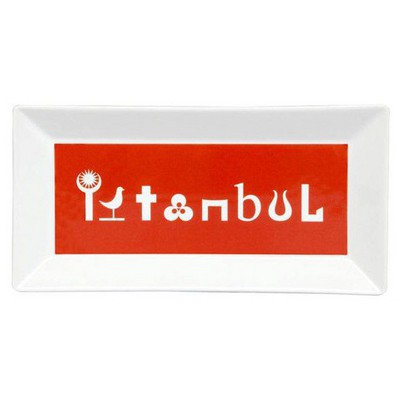 Kütahya Porselen Perge 25392 Dekor 24 Cm Istanbul Tabak