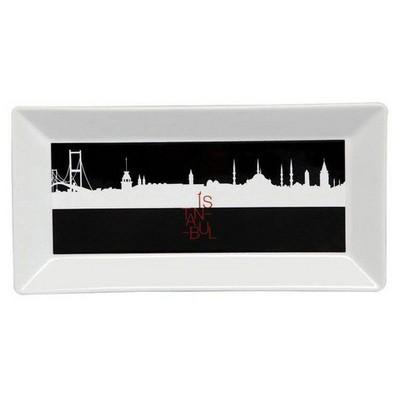 Kütahya Porselen Perge 25395 Dekor 24 Cm Istanbul Tabak