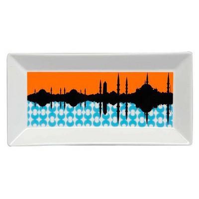 Kütahya Porselen Perge 25398 Dekor 24 Cm Istanbul Tabak