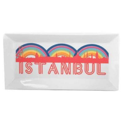 Kütahya Porselen Perge 25399 Dekor 24 Cm Istanbul Tabak
