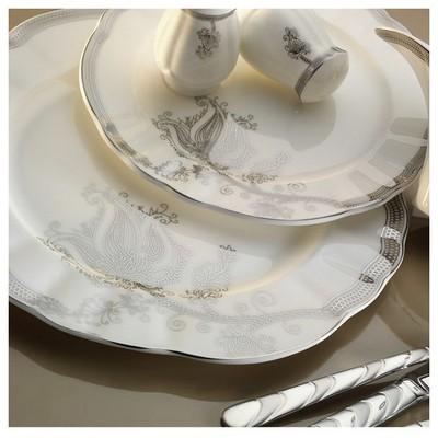 Mitterteich Romans 84 Parça 50118 Desenli Yemek Takımı Tabak