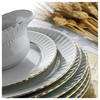 Kütahya Porselen Sedef 83 Parça Altın Fileli Yemek Takımı