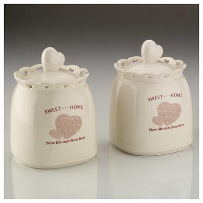 Kütahya Porselen Sweet Home 6 Parça Baharat Takımı Sofra Gereçleri