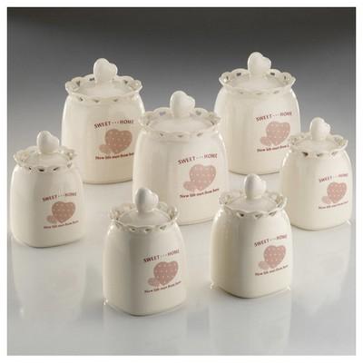 Kütahya Porselen Sweet Home 14 Parça Baharat Takımı Baharatlık