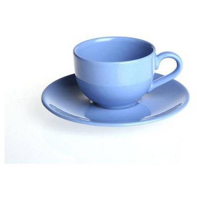Naturaceram Natura Ceram Selen Mavi Çay Fincanı Tabaklı Çay Seti