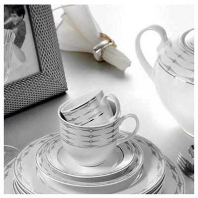 Kütahya Porselen Stella 5169 Desen Yemek Takımı Tabak