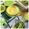Naturaceram Sun Flower Servis Tabağı Yeşil Küçük Mutfak Gereçleri