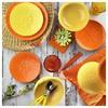 Naturaceram Sun Flower Servis Tabağı Turuncu Küçük Mutfak Gereçleri