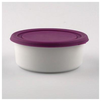 Kütahya Porselen Setı Mor Saklama Kabı