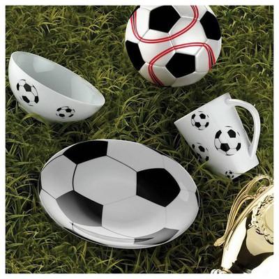 Kütahya Porselen Team Game Football Tek Kişilik Yemek Seti Yemek Takımı