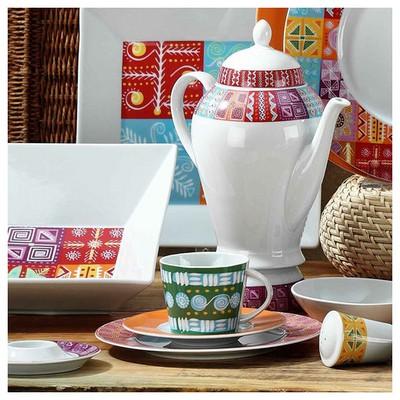 Mitterteich 86605 Desen Kahve Fincanı Ve Tabağı Çay Seti