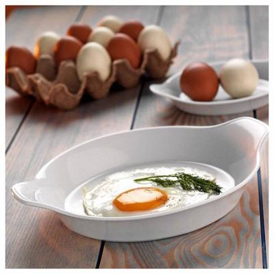 Kütahya Porselen Tavola Serisi Porselen Yumurta ı Büyük Sahan