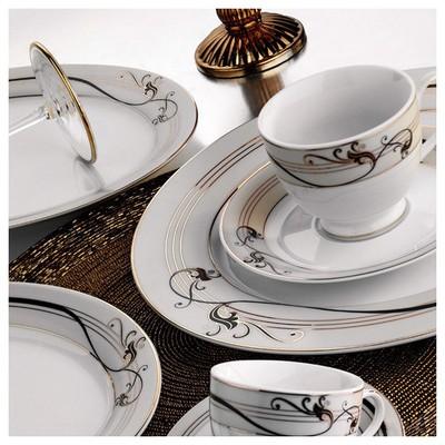 Kütahya Porselen Yasemin 12 Parça 10128 Desen Çay Takımı Çay Seti