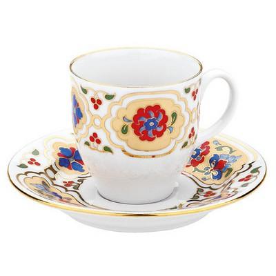 Kütahya Porselen 3723 Desen Kahve Fincan Takımı Çay Seti