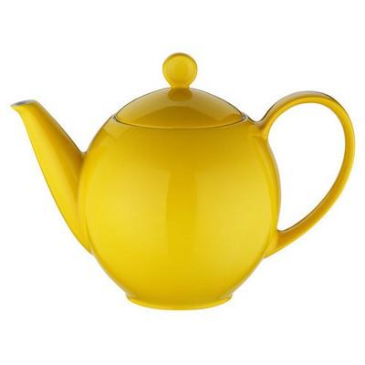 Kütahya Porselen Zeugma Kahvedanlık Sarı Çaydanlık