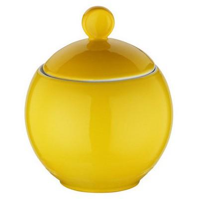 Kütahya Porselen Zeugma Şekerlik Sarı Gondol / Şekerlik