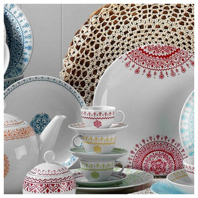 Mitterteich 86683 Desen Kahve Fincanı Ve Tabağı Çay Seti