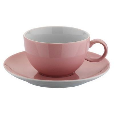 Kütahya Porselen 12 Parça Çay Takımı Somon Çay Seti